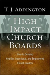 Book - High Impact Church Boards